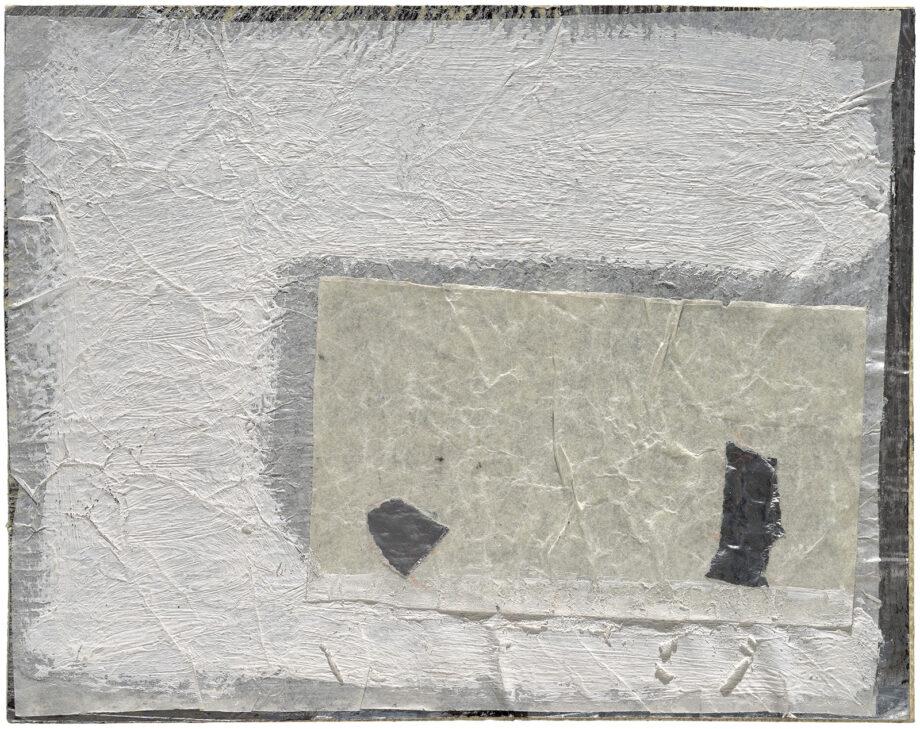 Art work; artist: Efimija Topolski; title of the work: No title, 1990; medium: mixed media on paper; dimensions: 15,5 x 19,7 cm