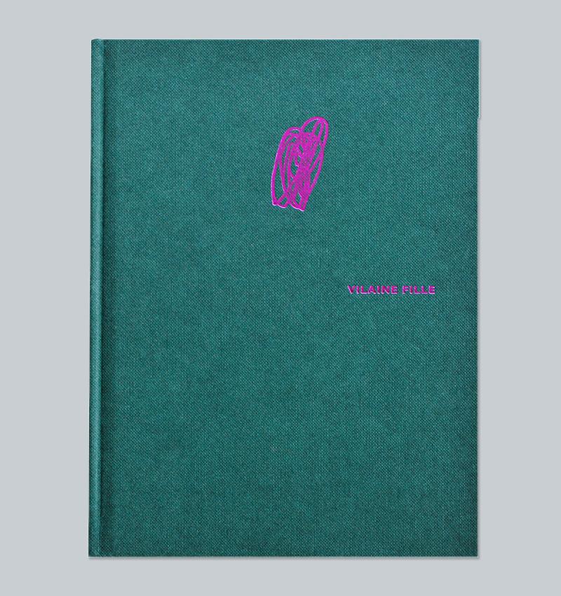 Catherine Lambermont, VILAINE FILLE, art book cover